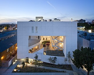 Brooks + Scarpa - The Six Affordable Veterans Housing, MacArthur Park, Los Angeles, CA