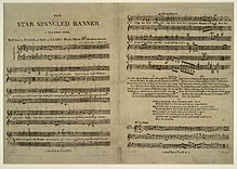 Image illustrative de l'article The Star-Spangled Banner