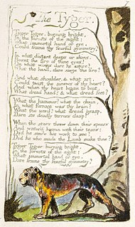 The Tyger 1794 William Blake poem