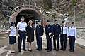 The USA's Secretary of the Air Force visits Cheyenne Mountain, 2015-05-27, 150527-F-VT441-002 (18010774390).jpg