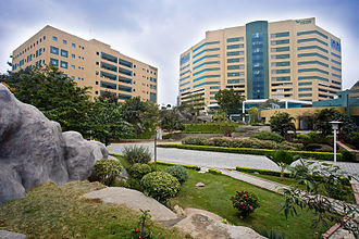 HITEC City - Image: The V Twin Building view