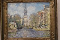 The Zuidekerk Amsterdam (Looking up the Groenburgwal).JPG