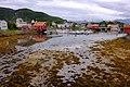 The beach in the inner part of the harbor of Inndyr.jpg
