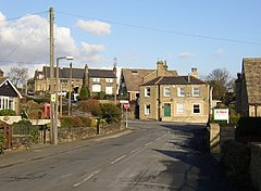The centre of Hartshead village, Yorkshire - geograph.org.uk - 125914.jpg