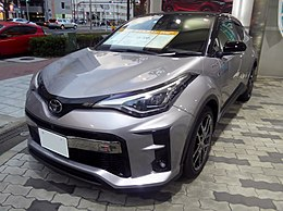 "The frontview of Toyota C-HR S""GR SPORT"" (6AA-ZYX11-AHXNB(G)).jpg"