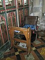 The incumbent's chair at St Mary's, Bloxham - geograph.org.uk - 1461141.jpg