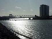 The lock bridge and the Tawe - geograph.org.uk - 1606421