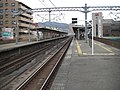 The platform of Rokkomichi Station.jpg