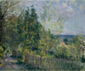The road in the woods - alfred sisley.png