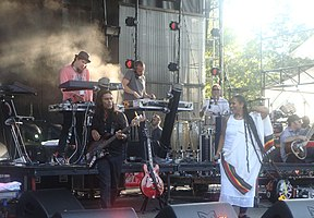 Thievery Corporation live in 2010
