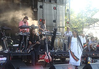 Thievery Corporation American electronica duo based in Washington, D.C.