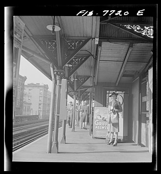 76th Street (IRT Third Avenue Line) - View from one of the platforms