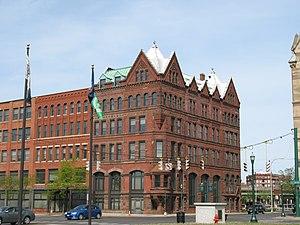 Third National Bank (Syracuse, New York) - Image: Third National Bank Syracuse, NY