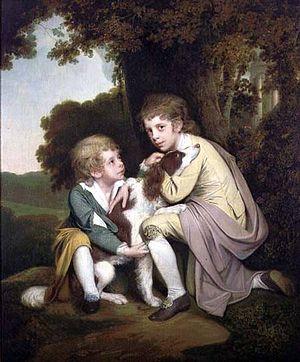 Joseph Pickford - Joseph Pickford's children painted by Joseph Wright