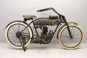 Thor (motorcycles) - Image: Thor Model CM 500 cc AIV 1911