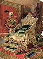 Throne presented to Queen Victoria by the king of Travancore.jpg