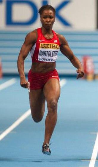 Tianna Bartoletta - Bartoletta at the 2014 World Indoor Championships