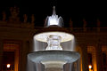 "Tip of the ""Bernini's fountain"" of St. Peter's Square at night.jpg"
