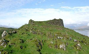 Tirefour Castle - Tirefour Broch