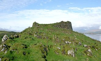 Lismore, Scotland - The broch at Tirefour