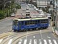 Toden 7703 near Asukayama Station.jpg