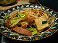 Tofu Champuru by ayustety in Monzennakacho, Tokyo.jpg