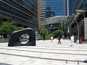 Tokyo Midtown - Plaza of Tokyo Midtown
