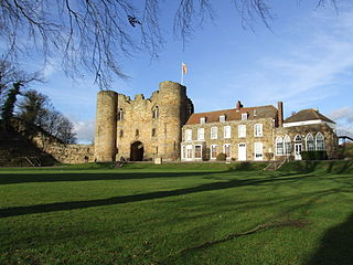 Tonbridge Castle Grade I listed castle in the United Kingdom