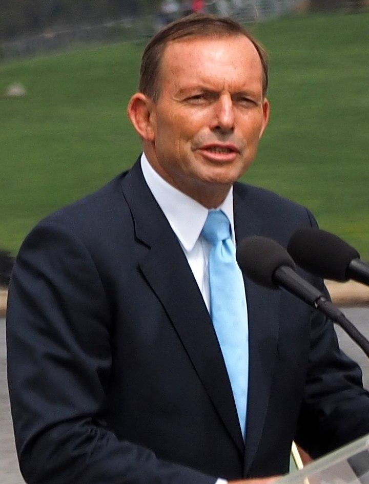 Tony Abbott January 2015 (cropped)