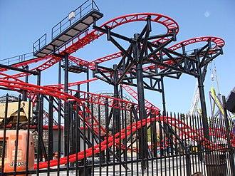 The Joker (Six Flags México) - The Joker at Discovery Kingdom  as Tony Hawk's Big Spin