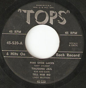 Tops Records - Tops 45rpm Extended-play record