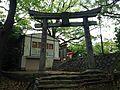 Torii of Kasuga Shrine in Yahatanishi, Kitakyushu, Fukuoka 2.JPG