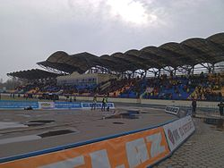 Torpedo stadium Zhodino west stand 03.jpg