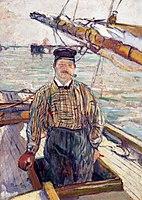 Toulouse-Lautrec - Emile Davoust, 1889.jpg