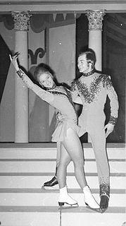 Bernard Ford English ice dancer