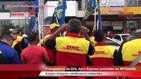 File:Trabajadores de DHL Aero Expreso SIELAS protestan en MITRADEL.ogv