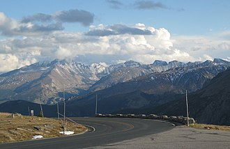Trail Ridge Road - Image: Trailridgeroadkea