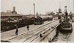 Train 79, Calais Pier Station in 1926.jpg