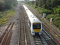 Train approaching West Ruislip station - geograph.org.uk - 1385581.jpg