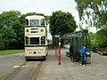 Tram stop at Crich Tramway Village - geograph.org.uk - 196568.jpg