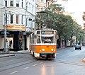 Tramway in Sofia in Alabin Street 2012 PD 039.jpg