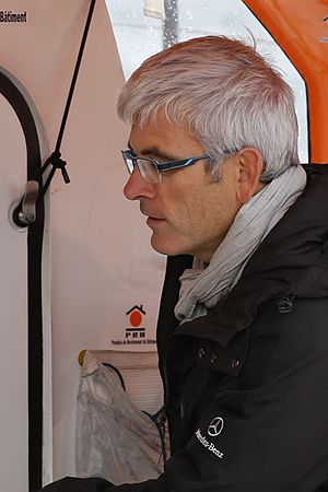 Vendée Globe - Vincent Riou, winner of the 2004-2005 Vendée Globe