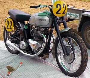 Edward Turner - 1947 500 cc Triumph T100 GP