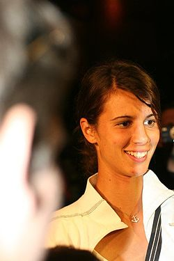 Tsvetana Pironkova at the Sofia Airport.jpg