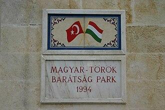 Szigetvár - Image: Turkish Hungarian Friendship Park.Szigetvar, Hungary
