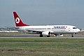 Turkish Airlines Boeing 737-8F2 TC-JFL (34136452255).jpg
