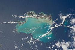 Turks Islands and Caicos Islands (NASA, ISS).jpg
