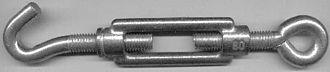 Turnbuckle - Small turnbuckle (80 mm)