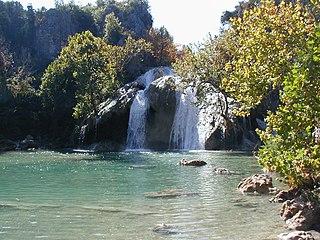 Turner Falls waterfall