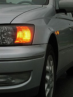 Front and side turn signals illuminated Turnsignals On.jpg